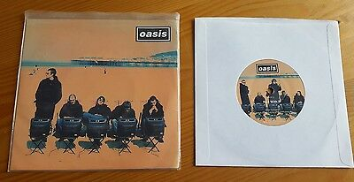 """Oasis - Roll With It 7"""" vinyl single Original Creation CRE212"""