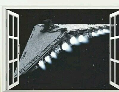 Star Wars Star Destroyer Large wall sticker/poster prop