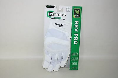 NEW CUTTERS Football C-Tack Durable Form Fit Lightweight Flexible Gloves Size L