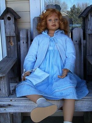 "Bette Klemin 2002 39"" Leah Ltd 850 Zapf Creation Germany Life Size Doll"