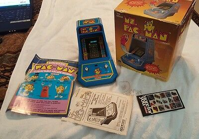 Boxed coleco ms pac man tabletop