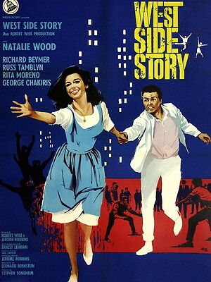 West Side Story Retro Movie Classic Vintage Wall Print POSTER CA