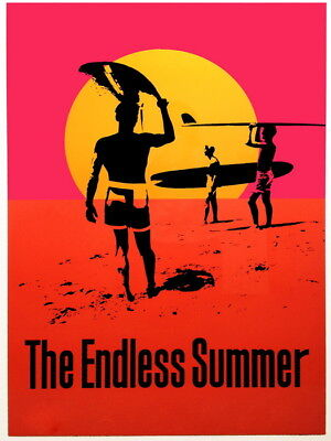 The Endless Summer Movie Art Wall Print POSTER AU