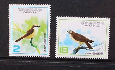 CHINA TAIWAN 1983 Migratory Birds. Set of 2. Mint Never Hinged. SG1504/1505.