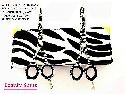 """Professional Hairdressing Hair cutting Scissors Thinning  Shears Set 6"""""""