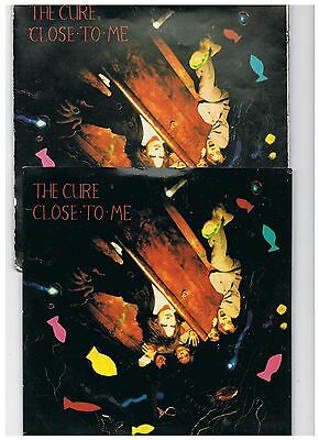 The Cure-Close To Me/man Inside My Mouth-Uk Fiction + Ps + Rare Limited Poster