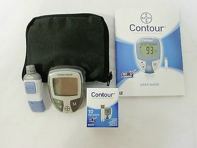 OWell Bayer Contour Complete Diabetes Blood Glucose Testing Kit