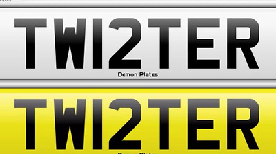 Private Personalised Cherished number registration plate TWISTER