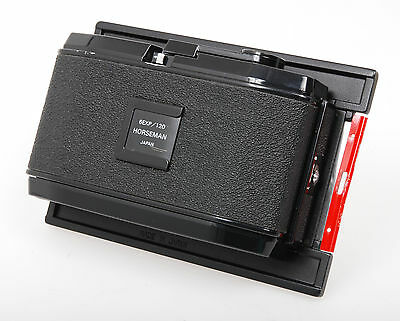 Horseman 6x12cm panoramic film back fits 5x4 large format (6 exp on 120)