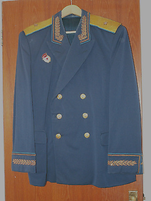 Superb Soviet Russian Generals Ceremonia:l Parade Tunic Immaculate Mint 1980's