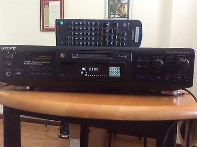 Sony MDS-JE700 Minidisc Player / Recorder With Box, remote & manual