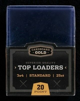 200ct Ultra CBG Pro Premium Sports Card Toploaders Topload Plus 200 Soft Sleeves