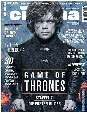 Cinema die Welt des Films 7 Juli 2017 Game Of Thrones Politthriller Chronik d