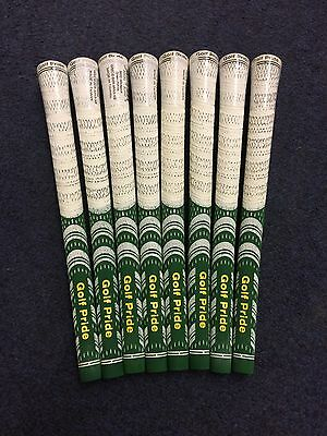 Brand new golf pride multi compound Masters Grips X8 White/Green/Yellow