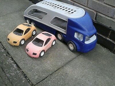little tikes car transporter with cars