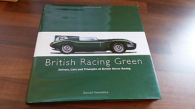 British Racing Green - 97807111033320 - Hardback Book Oop Rare David Venables