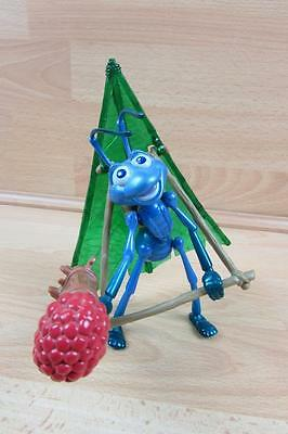 Disney Pixar Bugs Life Flik with Hang Glider Accessory 98 with Berry Blaster