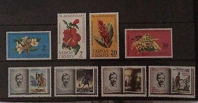 Samoa. 2 Sets From 1969. LHM