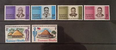 Samoa. 1967 Issues. LHM. ( 3 Photos ).