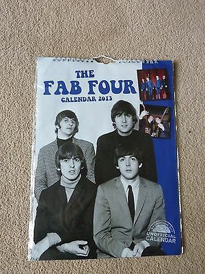 The Fab Four Beatles 2013 calendar STILL SEALED