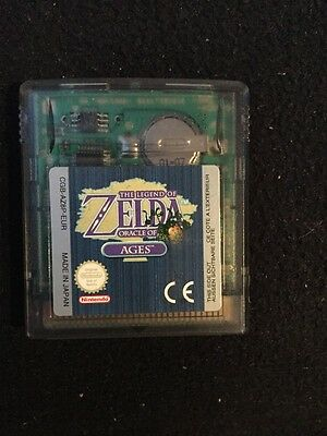 Jeu Nintendo Game Boy Zelda Oracle Of Ages