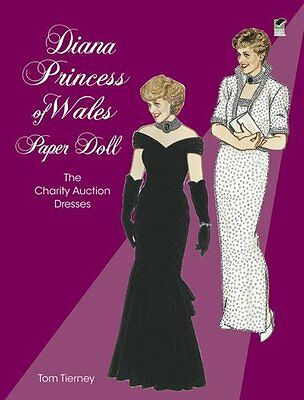 Diana Princess of Wales Paper Doll: The Charity Auction Dr... | Buch | gebraucht