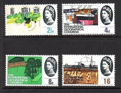 1964 Geographical Phosphor Set U/m