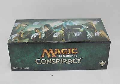 BNIB MAGIC THE GATHERING MTG Conspiracy Trading Cards 36 Booster Packs Box