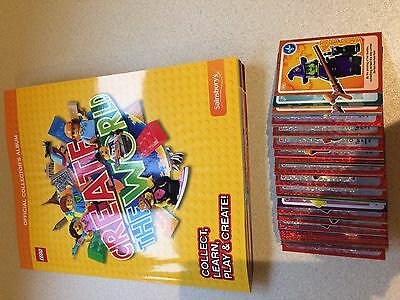 Lego Create the World Sainsburys trading cards swaps spares choose 5
