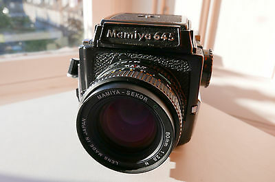 Mamiya M645 1000S Medium Format Film Camera with 80mm 1:2.8 Lens