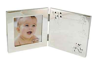 Juliana Baby Christening Gift Silver Plated Frame Gift Boxed New Rrp £15