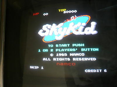 Sky Kid Arcade Game no Jamma PCB