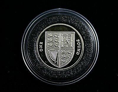 Rare Unreleased Brilliant Uncirculated 2016 Shield £1 Pound Coin * From A Set *