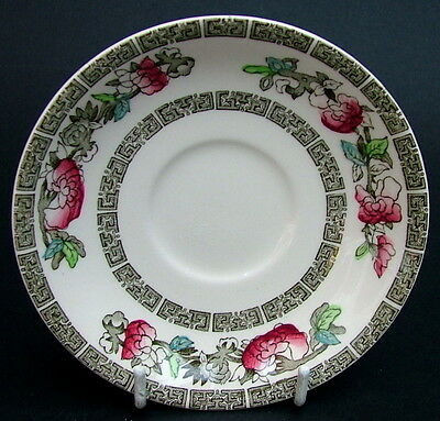 Johnson Brothers Indian Tree Pattern 100ml Coffee Cup Saucers Only 11.5cm in VGC