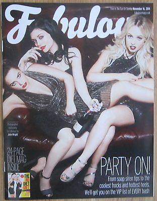 Georgia May Foote, Jorgie Porter, Shona McGarty – Fabulous magazine – 16 Nov 14