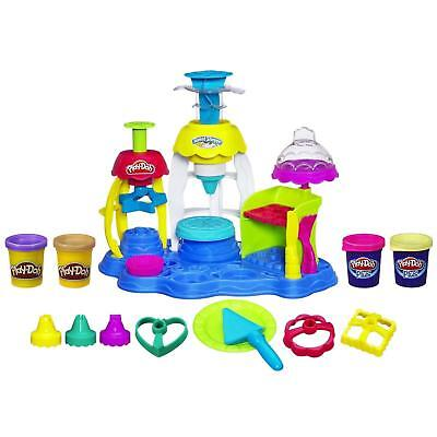 NEW Play-Doh Sweet Shoppe Frosting Fun Bakery Playset Cake Cookie Hasbro