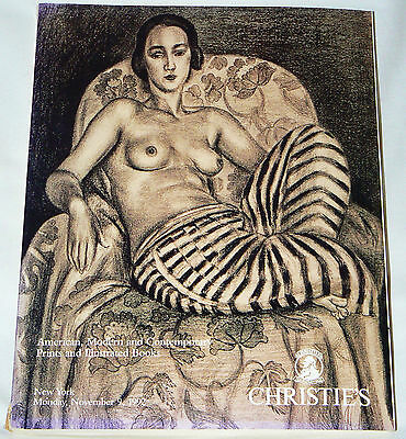 Christie's - American, Modern, Contemporary Prints & Illus. Books - NYC, 11/1992