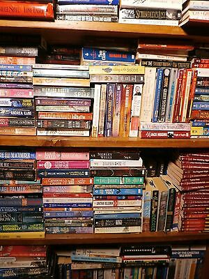 WHOLESALE BOOKS 150 Romance ACTION Passion ADVENTURE Drama SUSPENSE VARIETY LOT
