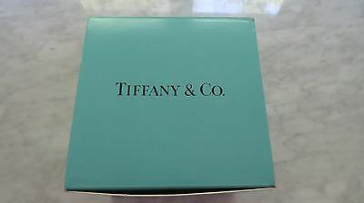 "Tiffany & Co. Crystal Bamboo Lattice 6"" Bowl - With Box - Never Used w/ Label"