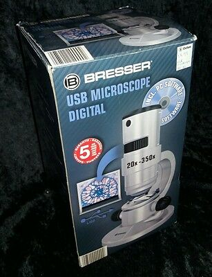 Bresser USB Digital Microscope. Boxed with accessories.