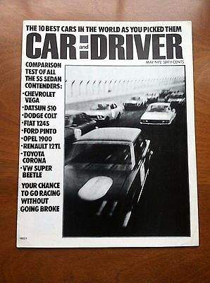 1972 Opel, Datsun, Vega, Vw, Fiat Sales Brochure, Original Item, Not A Re-Print