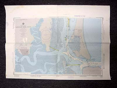 1979 Defense Mapping Agency Nautical Chart Cumberland Sound (South) 11494 1st Ed