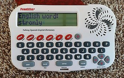 Franklin Talking Spanish - English Dictionary BES-1240A
