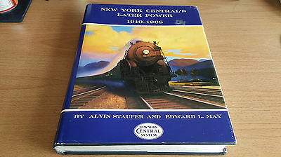 New York Central's Later Power 1910-1968 Alvin Staufer Edward May Railroad