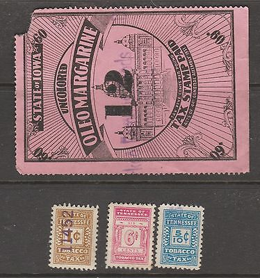 USA State revenue cinderella stamp 321-  as seen