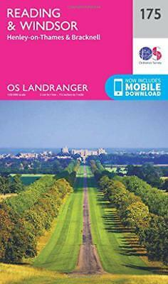Landranger (175) Reading, Windsor, Henley-on-Thames & Bracknell (OS Landranger M