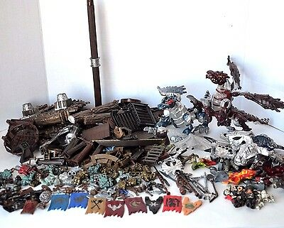Mega Bloks mixed lot Pyrates pirates ship Krystal war Dragons replacement parts