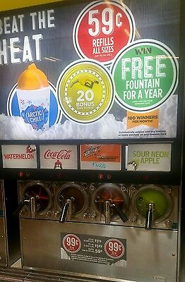 cornelius viper 4 Carbonated frozen beverage/drink machine/FBD slushie/icee