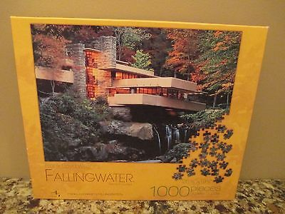 Frank Lloyd Wright's Falling Water Jigsaw Puzzle - 1000 Pieces - Complete