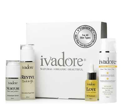 Revive-Nurture-Love-All Skin Types Pack + Tanning Treatment